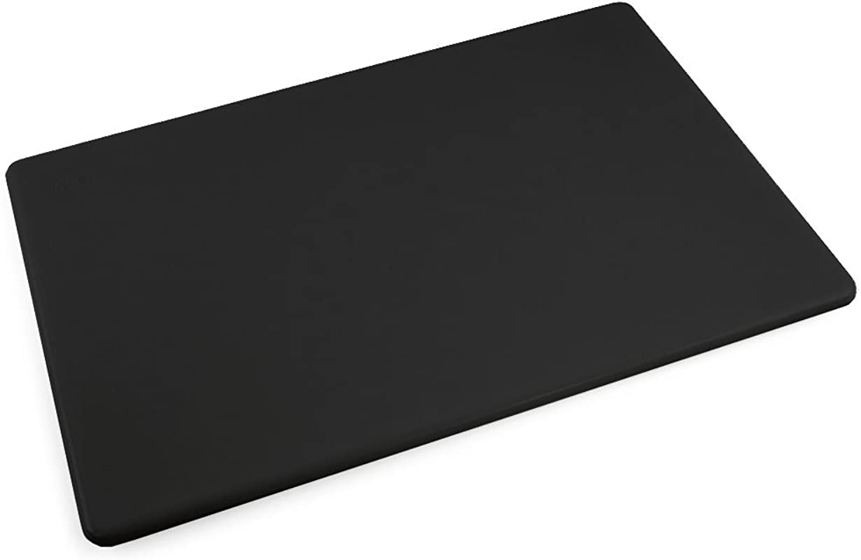 Commercial Plastic Black Cutting Board NSF 18 X 12 X 0 5 Inches