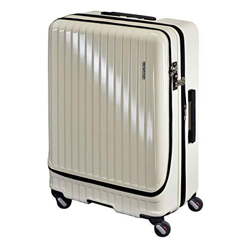 [フリクエンター] スーツケース マーリエ 86L/98L 68cm 5.4kg 1-280 アイボリー -