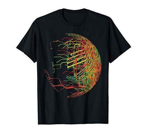 Binäre Welt Geschenk - Mainboard CPU Chip Leiterplatte T-Shirt