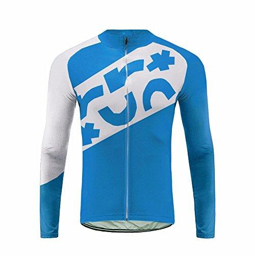 Future Sports Bike Wear Designs - Ropa Ciclismo, Long Pantalones De Langarm-Frühling Ciclismo Bicicleta Jersey con 3D Almohadilla De Gel para Pro Bicicleta Culotte Equipo Ropa Bodies