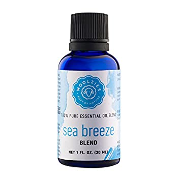 Woolzies 100% Pure & Natural Sea Ocean Breeze Essential Oil 1 Oz   Great for Relaxing Stress Relieving Refreshing Candle & Soap Making Diffuser   Highest Quality Aromatherapy Therapeutic Grade