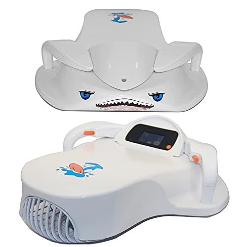 KTops Tabla de Surf eléctrica para niños Scooter de Agua Inteligente Ayuda para el Entrenamiento de natación 2 Modos Tabla de Surf de Agua de energía eléctrica Piscina acuático Juguetes