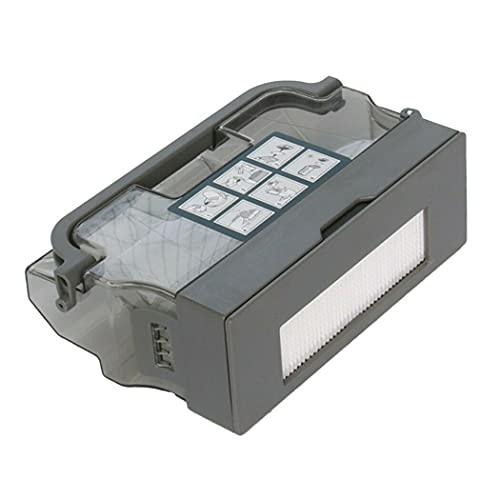 Chuancheng Filtro de caja de basura para Ecovacs Deebot Ozmo DM88 D900 D901 piezas de repuesto