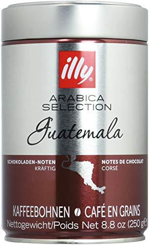 illy Kaffee, Espressobohnen der Arabica Selection aus Guatemala - Verpackung mit 2 Dosen zu je 250 g
