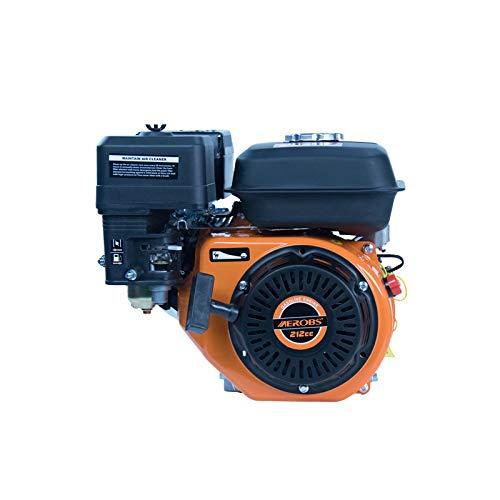 AEROBS Motor de gasolina 170F 7.5HP 212cc 4 tiempos OHV de un solo cilindro estilo clásico