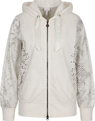 Sportalm Damen Sweatjacke Größe 44 EU Weiß (weiß)