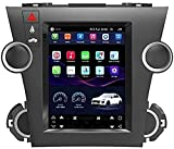 Radio estéreo para automóvil para Toyota Highlander 2007-2015, Android Double DIN Sat Nav Navegación GPS Reproductor Multimedia Receptor de Video con 4G DSP Carplay (Color: WiFi 2G + 32G)
