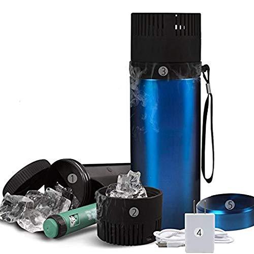 Tragbare Insulin-Schutz-Kühler-Kasten-Drogen-Kühlkoffer-Kasten-Kühlbox für Diabetiker, USB-Gebühr