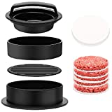 RunLimL 3 in 1 Burgerpresse Set - Burger Patty Presse für perfekte Burger, Patties oder...