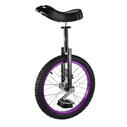 Why Choose 18 Inch Junior Unicycle, Leakproof Butyl Tire Wheel Cycling, Adjustable Seat, Single Whee...