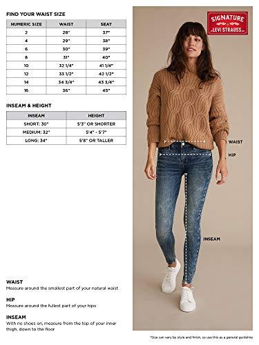 Women's Modern Slim Premium Super Stretch Denim Jeans 6
