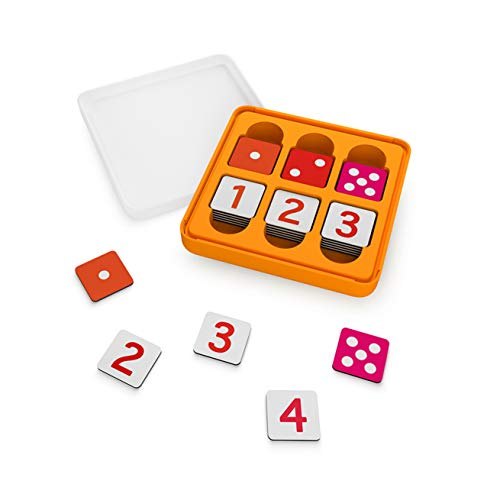 Osmo - Genius Numbers - Ages 6-10 - Math Equations (Counting, Addition, Subtraction & Multiplication) - For iPad or Fire Tablet (Osmo Base Required - Amazon Exclusive)