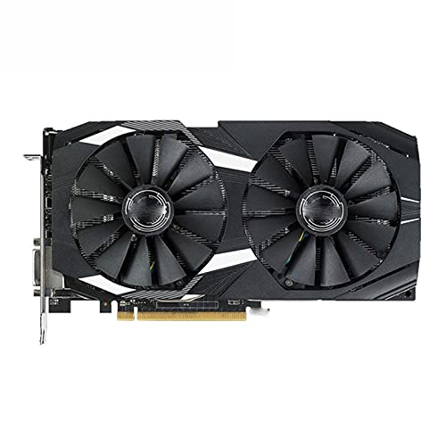 MPGIO FIT FOR ASUS RX 580 Tarjeta de Video de 8GB GPU AMD Radeon RX580 Tarjetas gráficas de 8GB Pantalla de Juego de computadora PUBG VGA DVI Tarjeta de Video HDMI 570560550