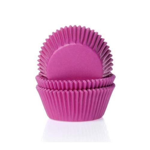 50 Muffinförmchen, pink
