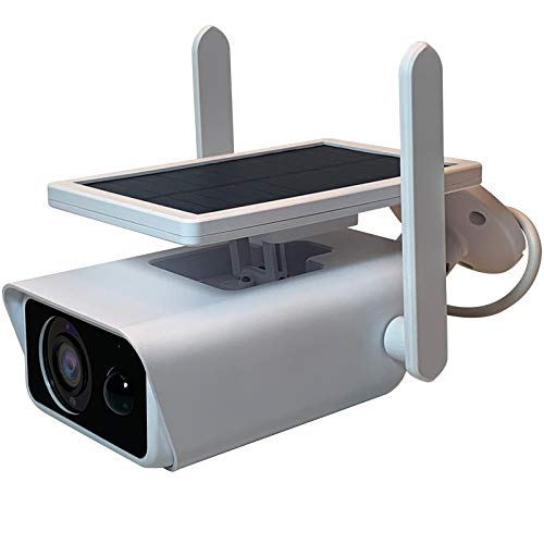 Cobeky Energía solar cámara IP Wifi 8 GB 1080 p HD CCTV red al aire libre ir vigilancia cámaras impermeable seguridad casera
