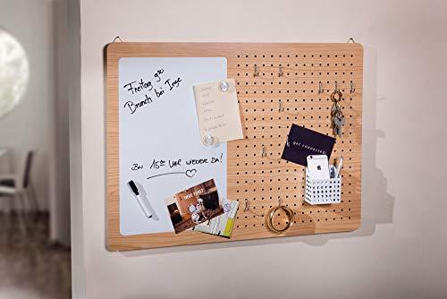 """16 tlg. Wochenplaner """"Notizen"""", Wandboard, Wandhänger, Organizer, Memoboard, Pinnwand, Lochtafel"""
