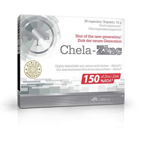 OLIMP Labs Chela- Zinc 30 Caps chelate Amino Acid