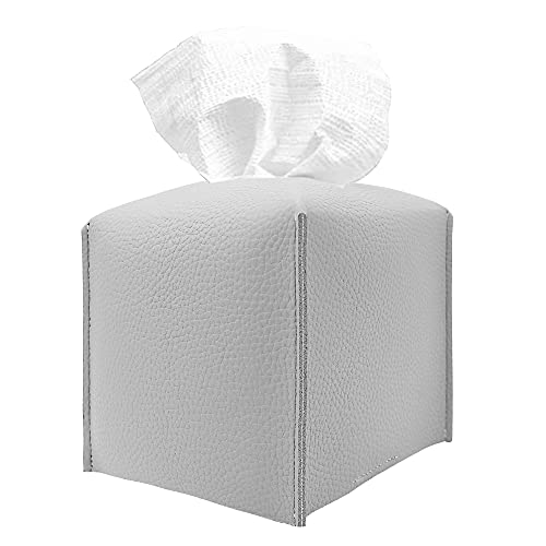 PU Leather Modern Square Tissue Box Holder Only $8.15 (Retail $15.99)