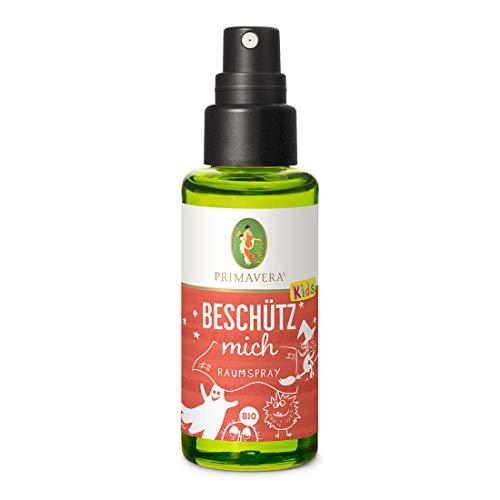 PRIMAVERA Kids Raumspray Beschütz mich bio 50 ml - Aromadiffuser, Aromatherapie - beschützend, beruhigend - vegan