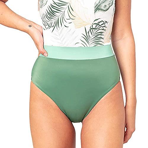 Rip Curl Coastal Palms Cheeky One Piece Badeanzug Damen weiß/grün Größe S 2021 Schwimmanzug