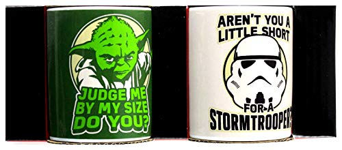 Star Wars - Yoda And Stormtrooper Mini Mug Set