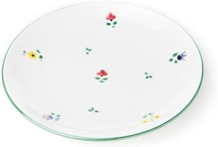 Preisvergleich für GMUNDNER KERAMIK Dessertteller Cup | Durchmesser : 20 cm | Streublume | Geschirr, handgemacht in Österreich