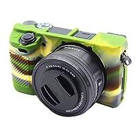 カメラ製品情報 ソニーILCE6300 / A6400のソフトシリコン保護ケース カメラ用保護ケース (Color : Color1)