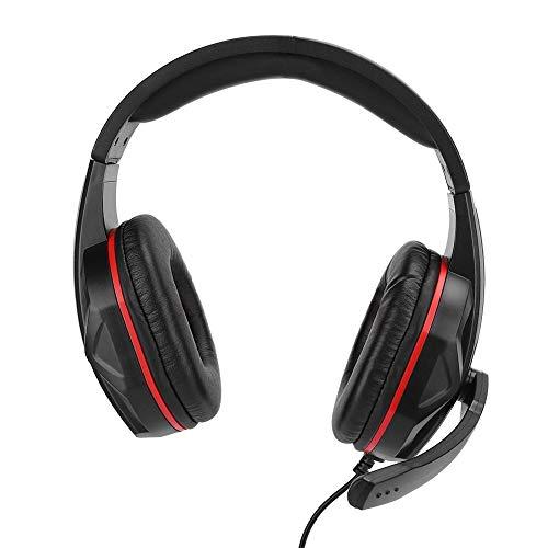 Dpofirs SEZ-881 Auriculares portátiles Ligeros con reducción de Ruido para Xb-oxone/P-S4, Auriculares...