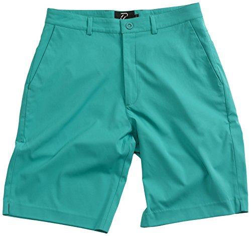 IJP Design, Pantaloncini da Golf Uomo Tech, Verde (Grün), 30