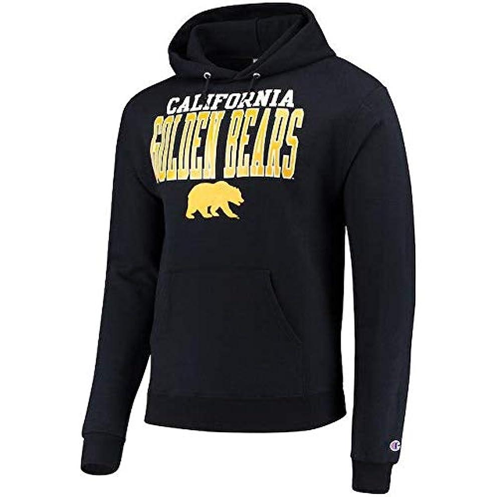 世代便利さ圧力Champion Champion Cal Bears Navy Core Powerblend Hoodie スポーツ用品 【並行輸入品】