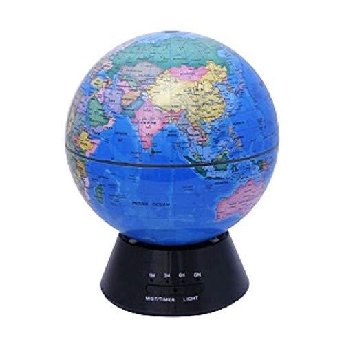 VGFTP Aroma Ätherisches Öl Diffusor, Globen Ultraschall Luftzerstäuber Luftbefeuchter für Office Home7 Led Nachtlicht Wasserlos Auto-Off 300ML