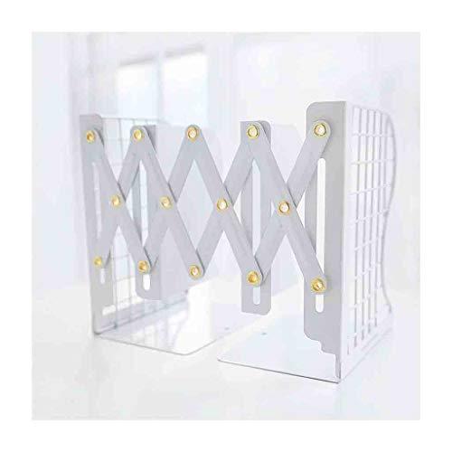 Estante para libros Bookshelf plegable retractable estilo simple de escritorio clip de escritorio estantería estudiante dormitorio suministros escolares estantería de escritorio 4.4 × 5.9 × 7.87 pulga