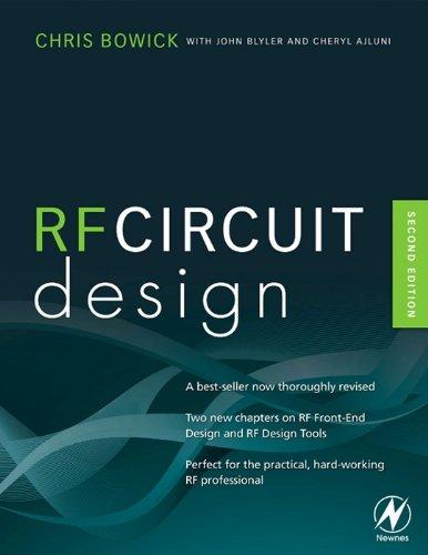 RF Circuit Design (English Edition) segunda mano  Se entrega en toda España