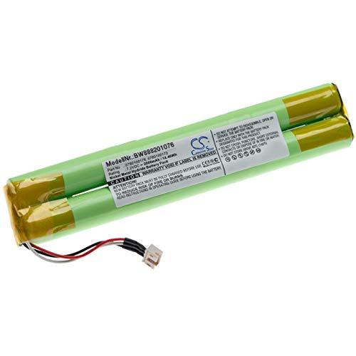 vhbw batería Compatible con Paradox Magellan MG6160 Control Panel Control de Alarma Seguridad (2000mAh, 7.2V, NiMH)