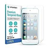 smartect Cristal Templado para Móvil Apple iPod Touch 7G / 6G / 5G [2 Unidades] - Protector de pantalla 9H - Diseño ultrafino - Instalación sin burbujas - Anti-huella