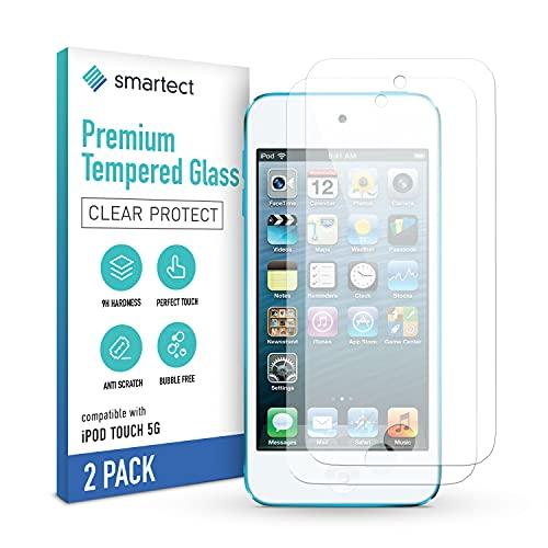 smartect Schutzglas kompatibel mit iPod Touch 7G / 6G / 5G [2 Stück] - Tempered Glass mit 9H Härte - Blasenfreie Schutzfolie - Anti-Kratzer Displayschutzfolie