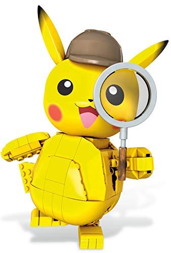 Mega Construx GGK28 - Pokémon Meisterdetektiv Pikachu (271 Teile), Spielzeug zum Pokémon Film Meisterdetektiv Pikachu