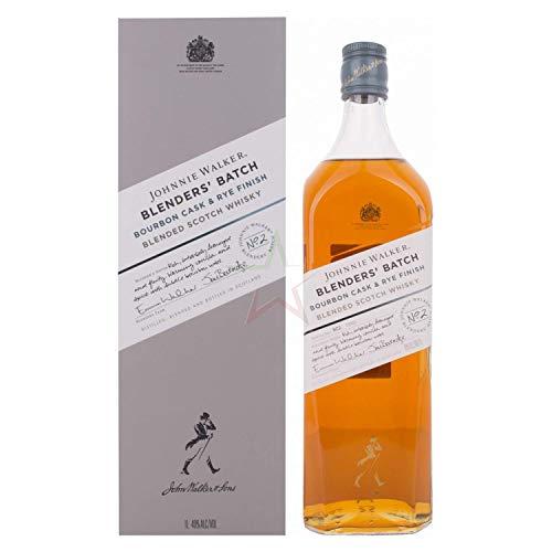 Johnnie Walker Johnnie Walker Blenders  Batch Bourbon Cask & Rye Finish 40% Vol. 1L In Giftbox - 1000 ml