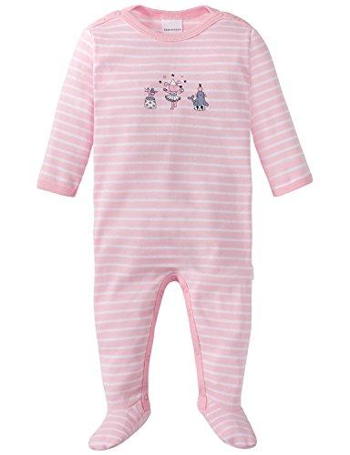 Schiesser baby-meisjes circus Zampano pak met voet tweedelige pyjama
