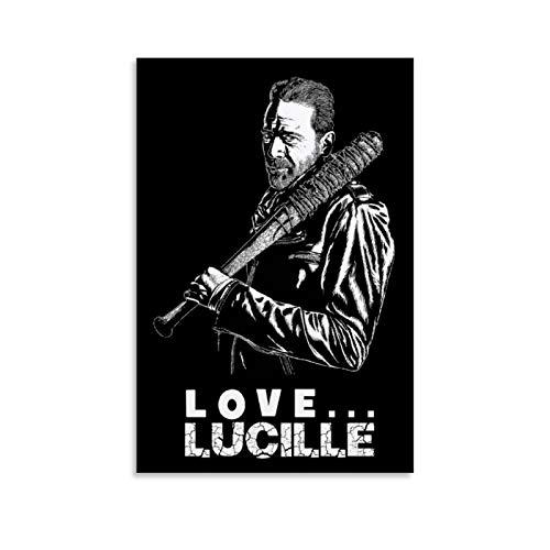 Yuhui Negan Love Lucille Poster, dekoratives Gemälde, Leinwand, Wandkunst, Wohnzimmer, Poster, Schlafzimmer, 50 x 75 cm