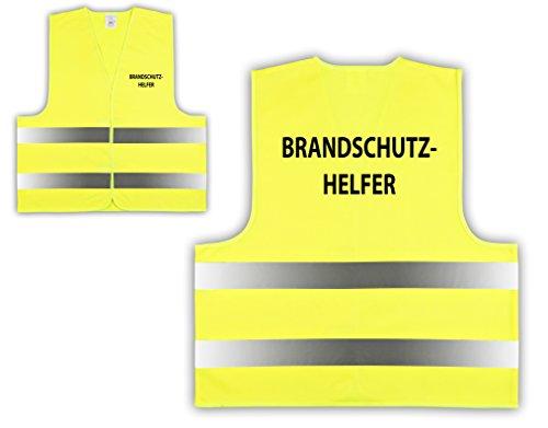easyMesh 10er Pack Signalweste Warnweste Gelb Gr. XL/XXL Brandschutzhelfer