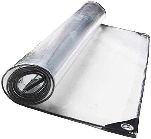 FCXBQ Poncho Transparente Sun Room Cobertizo para Plantas Toldo Transparente Tienda de campaña Tela Cortina de Aire Acondicionado (Tamaño: 3mx4m)