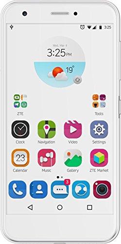 ZTE Blade A512 Smartphone (13,2 cm (5,2 Zoll) Display, 13 Megapixel Kamera, 16 GB Speicher) Weiß