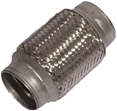 Berk Technology BTFLEX2.00x6 Stainless Steel Exhaust Flex Section 2.0-Inch ID