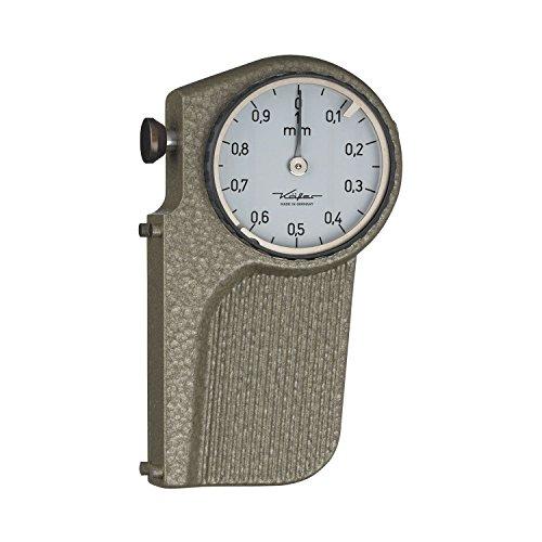 KÄFER 40005 Sägeschränkmessuhr Messbereich 0-2 mm Ablesung 0,1 mm