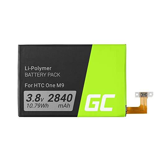 Green Cell B0PGE100 Handy Akku für HTC One M9 S9 (Li-Polymer Zellen 2840mAh 3.8V)