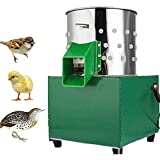 T-king 110V Electric Chicken Dove Poultry Feather Plucking Machine, Depilator Small Plucker Poultry Hair Removal Birds Depilato Machine