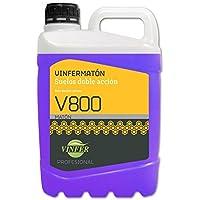 VINFER Fregasuelos INSECTICIDA Doble Acción V800 Vinfermatón: elimina insectos y limpia cualquier tipo de suelo. Botella 5 Lt.