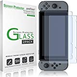 amFilm Tempered Glass Screen Protector for Nintendo Switch