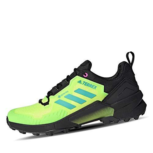 adidas Zapatilla Terrex Swift R3 GTX, Stivali da Escursionismo Uomo, SIGGNR/ACIMIN/Syello, 44 EU